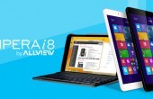 Allview Impera I8 – 8-inch Windows 8.1-Tablet mit Intel Quadcore & Keyboard-Cover