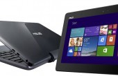 ASUS Transformer Book T100TAF: Abgespecktes T100-Tablet mit Keyboard-Dock & Bing-Windows für unter 300 Euro