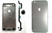 Apple iPhone 6 Fotos der Rueckseite – Integriertes, kratzfestes Apple Logo
