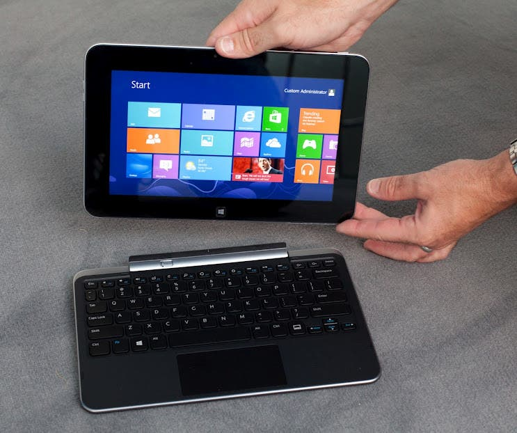 Dell XPS 10 Windows 8 Convertible Tablet im Hands On