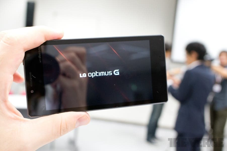 LG Optimus G Hands-on 1