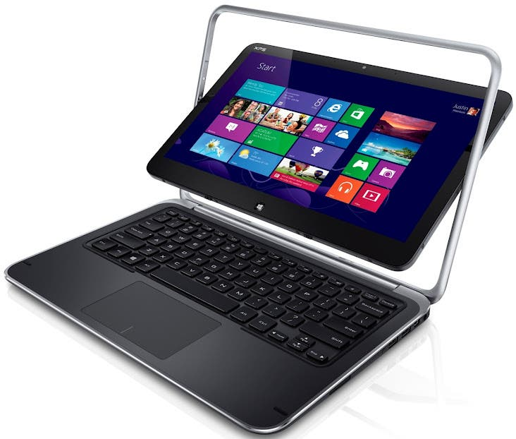 Dell XPS 10 ARM-Tablet mit Windows RT, Dell XPS 12 Convertible-Ultrabook mit Flip-Display – Update: Videos