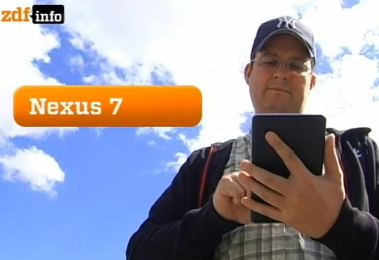 Mobilegeeks im TV – Google Nexus 7 im Test fuers ZDF *Update: Youtube Video*