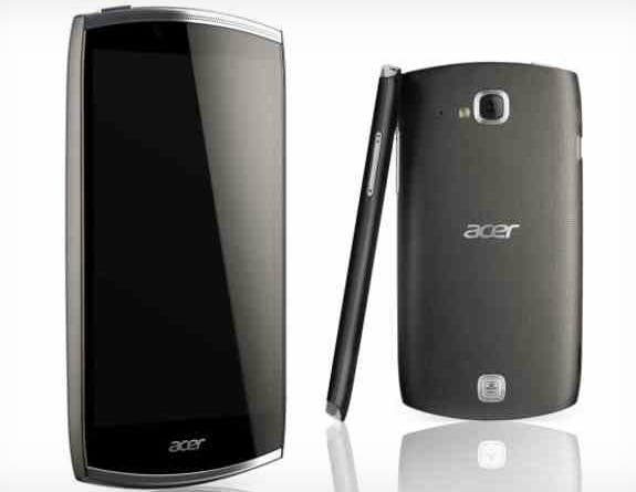 Acer CloudMobile S500: neues Smartphone auf der IFA vorgestellt *Update: Hands-on Video*