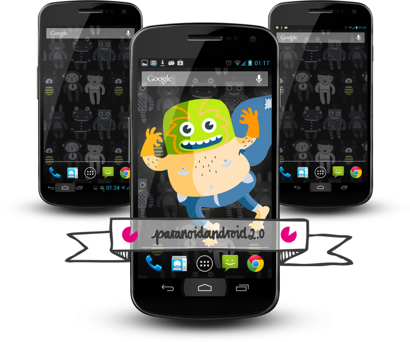 Paranoid Android – der Hybrid unter den ROMs – ein Erfahrungsbericht