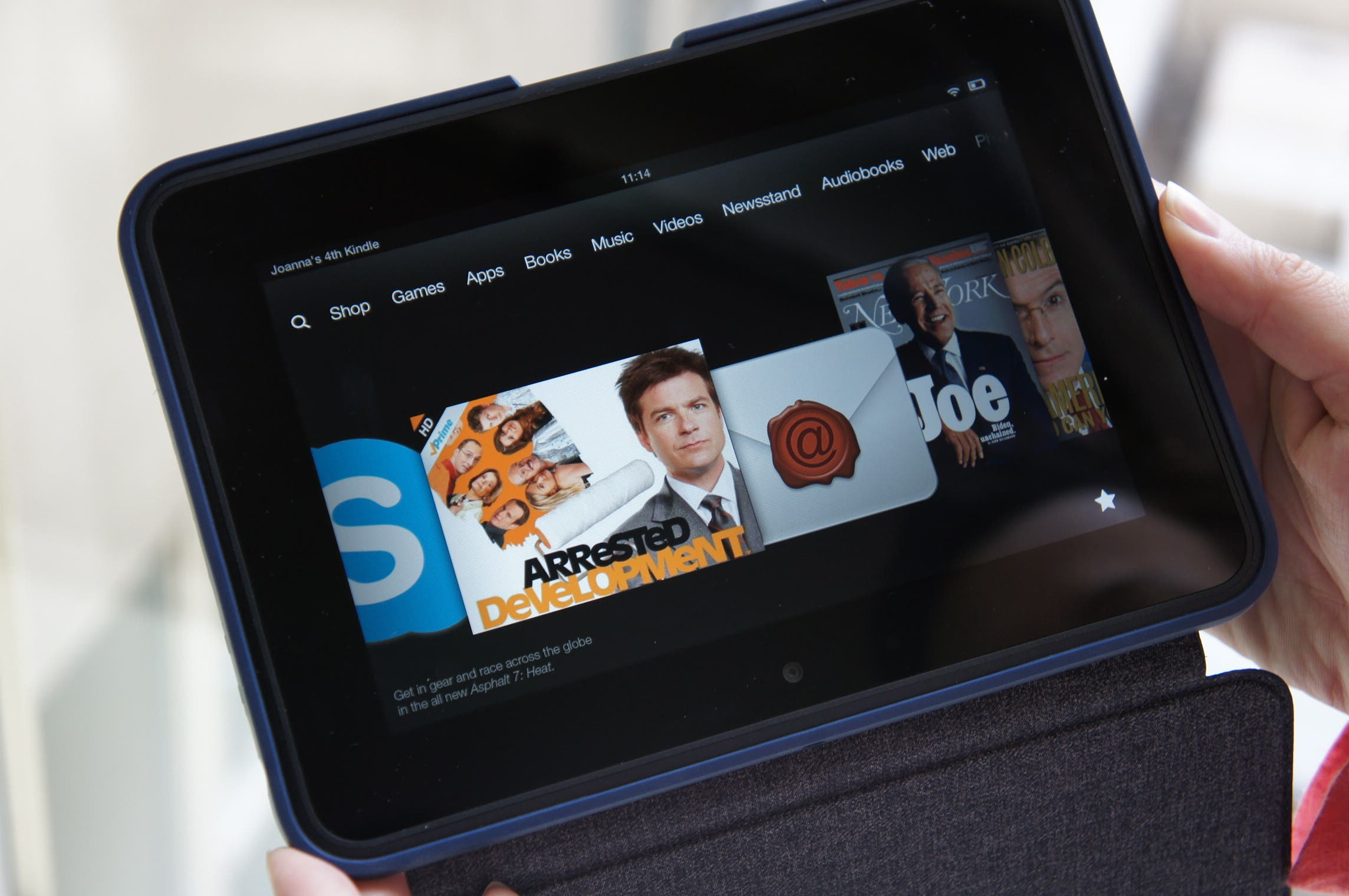 Amazon Kindle Fire: Neues 7-inch Tablet auf dem Weg?