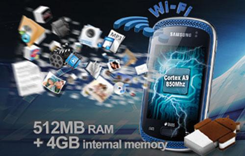 Samsung Galaxy Music: Musik-Smartphone für Einsteiger geleakt