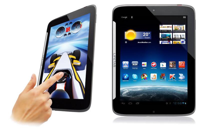 Medion Tablet Lifetab S9512 (MD 99200) ab 4. Oktober fuer 299€ bei Aldi