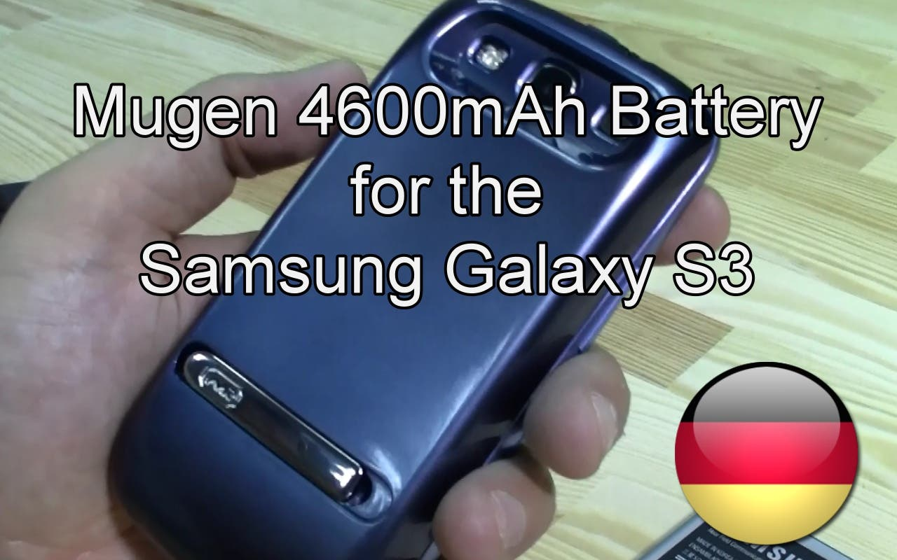 Mugen 4600 mAh Akku für das Samsung Galaxy S3