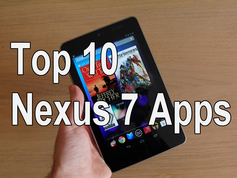 Nexus 7: Diese Apps gehören (für mich) aufs Google-Tablet