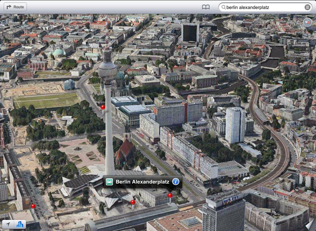 iOS 6 in die Deutschen Karten geschaut – Ein Erfahrungsbericht