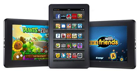Google Nexus 7? Nein, Amazons Kindle Fire ist der König der Android Tablets