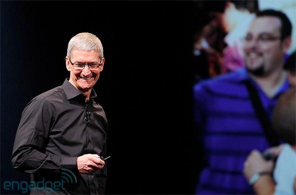 Tim Cook deutet den Apple Fernseher an