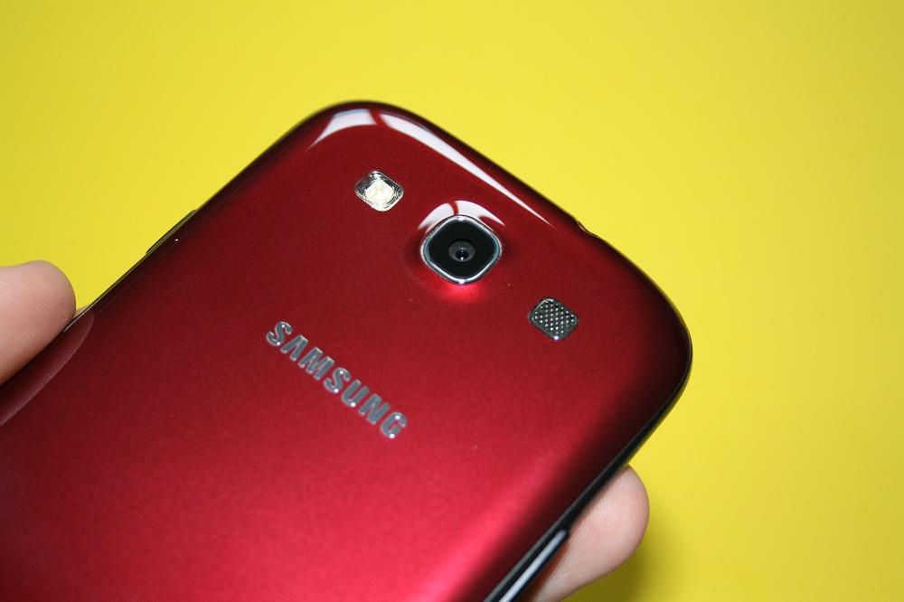 Rotes Samsung Galaxy S3 im ersten deutschen Unboxing + Bilderreihe