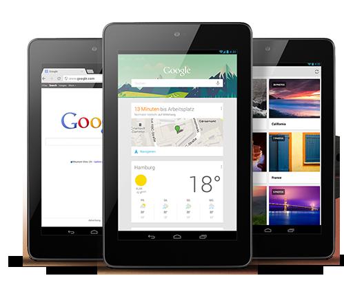 70 Prozent des non-iPad Marktes werden 7 Zoll Android Tablets ausmachen