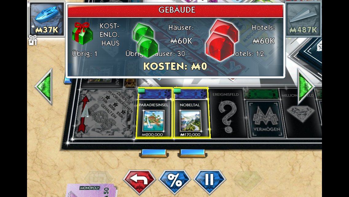 ios game der woche kw 42 monopoly millionaire swag im. Black Bedroom Furniture Sets. Home Design Ideas