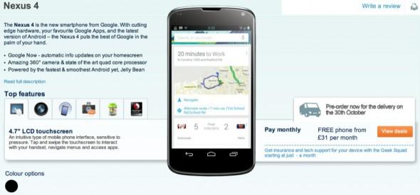 Google: Speicherkarten sind zu kompliziert für Nexus-Smartphones & -Tablets