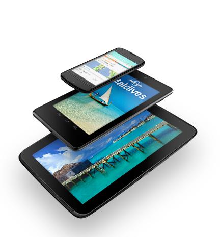 Google bestätigt Nexus 4, Nexus 7 mit 32 GB Speicher und 3G und Nexus 10