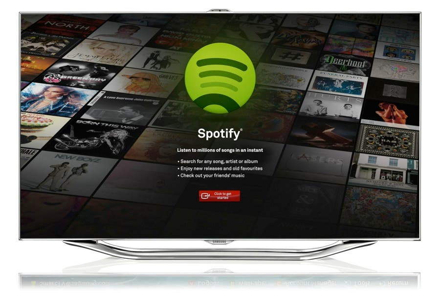 Spotify kommt auf Samsung Smart TVs