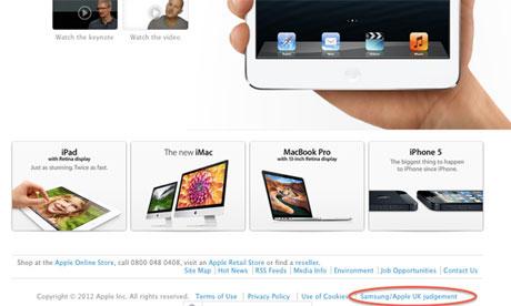 Urteil in Großbritannien bestätigt: Apple verliert erneut gegen Samsung *Update: Apple muss nachbessern*