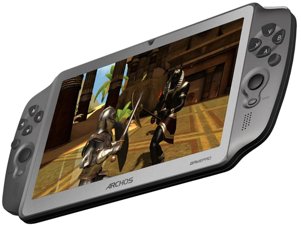 Archos GamePad Spiele-Tablet für 150 Dollar in Aktion – Emulator-Action im Video