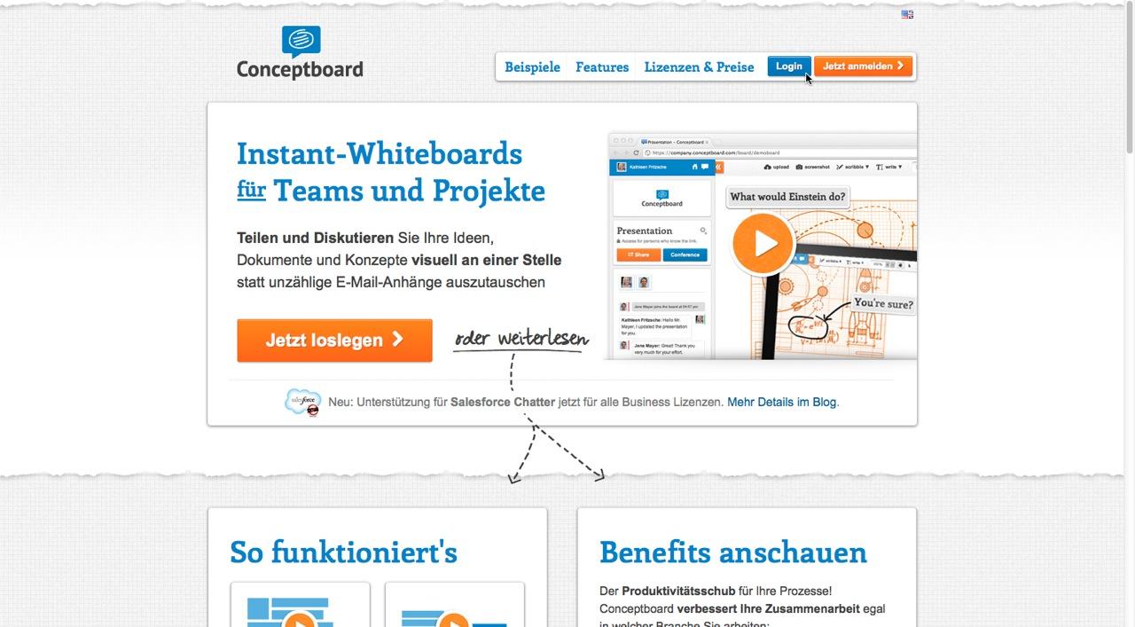 Conceptboard im Kurztest – Das Instant-Whiteboard im Web