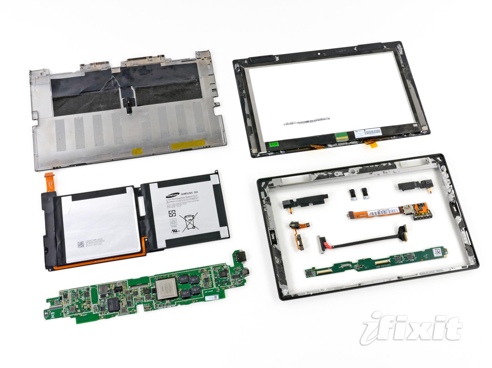 Apple und Microsoft Tablets lassen sich am schlechtesten reparieren