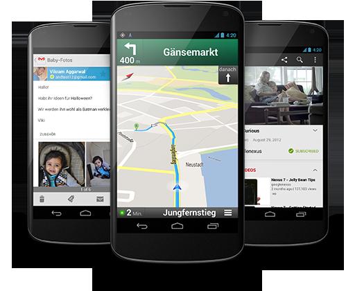 Google Nexus 4: Play Store leidet unter riesiger Nachfrage