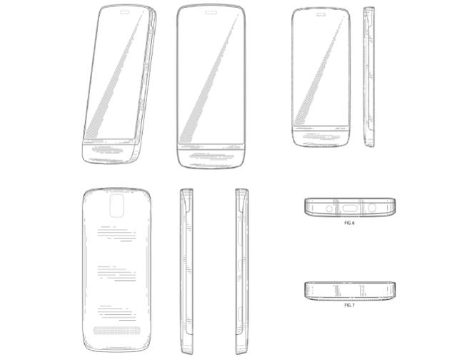 Nokia: Neues Design-Patent für Lumia Smartphones