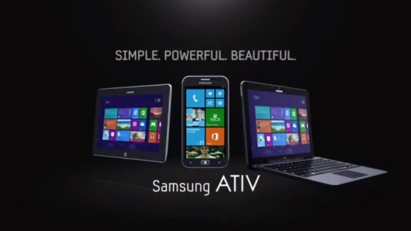 Videos: Samsung ATIV Smartphones & Tablets Werbung & Produktvorstellung