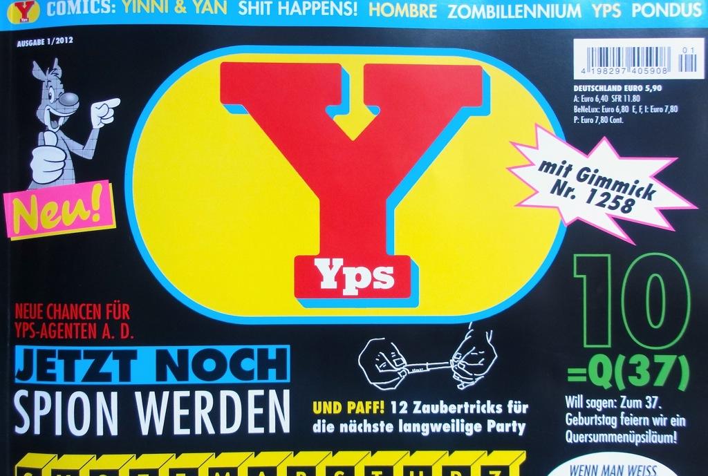 """Yps – Das neue """"Erwachsenen-Magazin"""" im Geek-Kurzreview"""