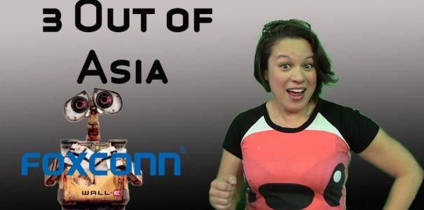 3 From Asia: Untersuchungen bei HTC, Foxconn Roboter und Gree geht nach Singapur