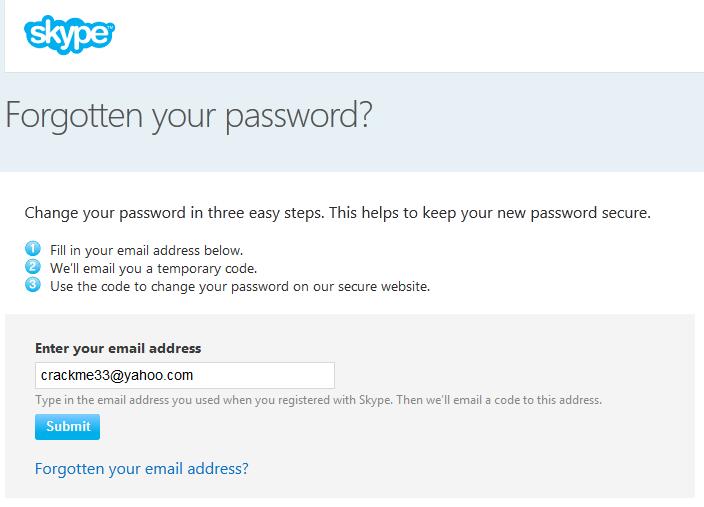 Lücke im Scheunentorformat: Skype-Accounts übernehmen in sechs einfachen Schritten! *Update: Lücke geschlossen*