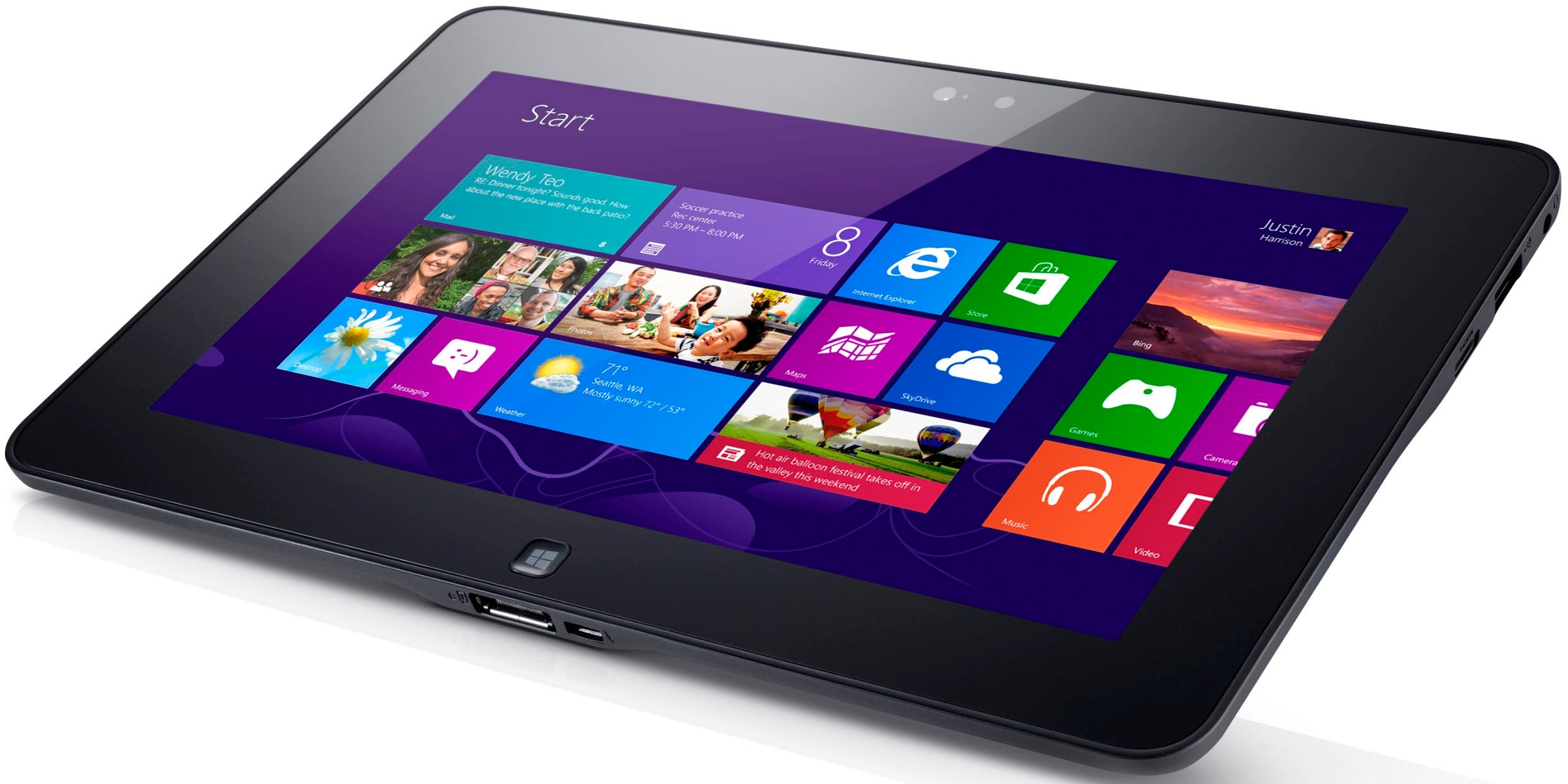 Dell Latitude 10 Windows 8-Tablet mit austauschbarem Akku in Video vorgestellt