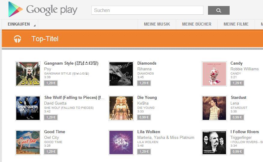 Google Music startet in Deutschland