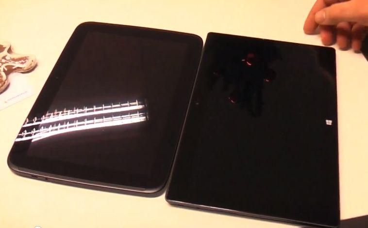 Im direkten Vergleich: Google Nexus 10 und Microsoft Surface RT