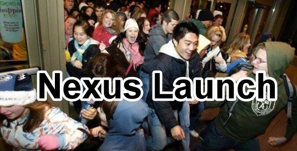 Kommentar: Google Nexus Launch oder Erlebniseinkauf Deluxe