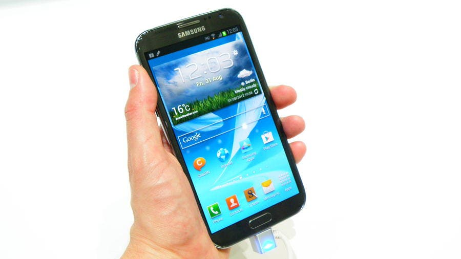 Samsung Galaxy Note 3 mit Exynos5 Octacore-Prozessor (?)