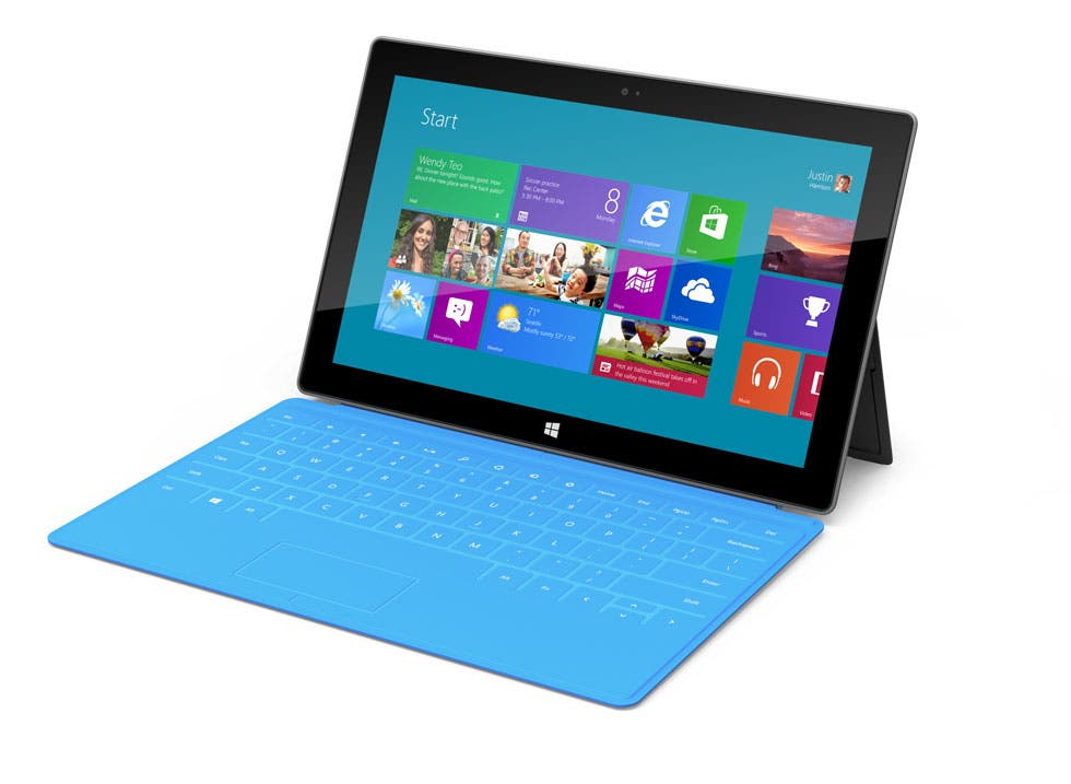 Microsoft Surface Tablet – Tastatur-Cover sorgen für Sound-Problem