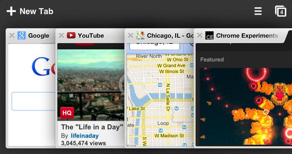 Google Chrome für iOS: PDFs an andere Apps, Passbook Unterstützung