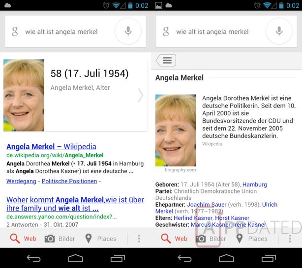 Google Now: auch in Deutschland jetzt mit vollem Funktionsumfang