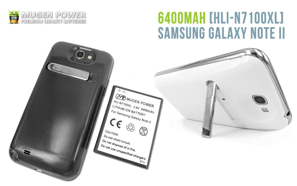Mugen Power bringt 6400mAh-Riesenakku für das Samsung Galaxy Note 2