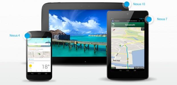 Chinesische Hersteller verzweifeln an Googles Nexus-Flotte