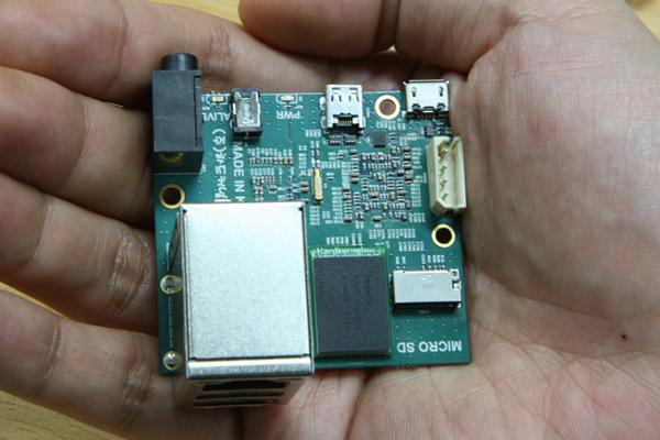ODROID-2 Mikro-Mainboard mit Samsung Exynos 4412 Quad Core ist kleiner als eine Kreditkarte