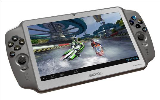 Archos GamePad Spiele-Tablet jetzt für 149 Euro mit verbesserter Hardware vorbestellbar
