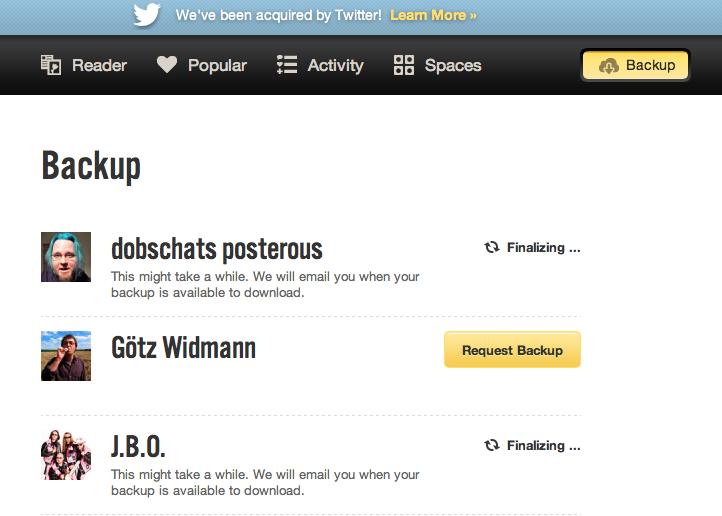 Posterous bietet Backup-Tool an – wird kommendes Jahr dicht gemacht?