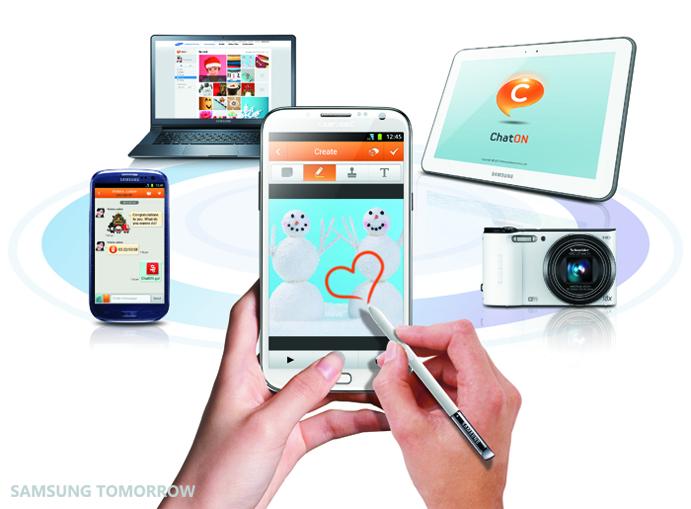 Samsung stellt ChatON 2.0 vor