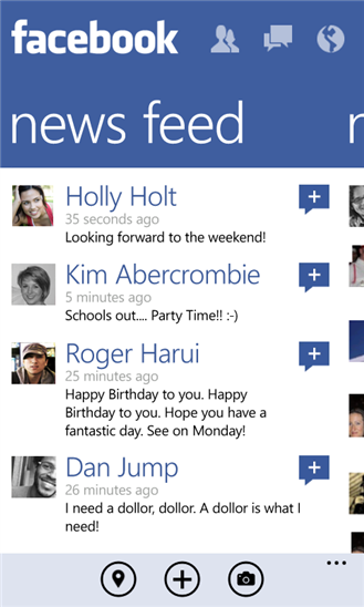 Facebook für Windows Phone 8 jetzt schneller