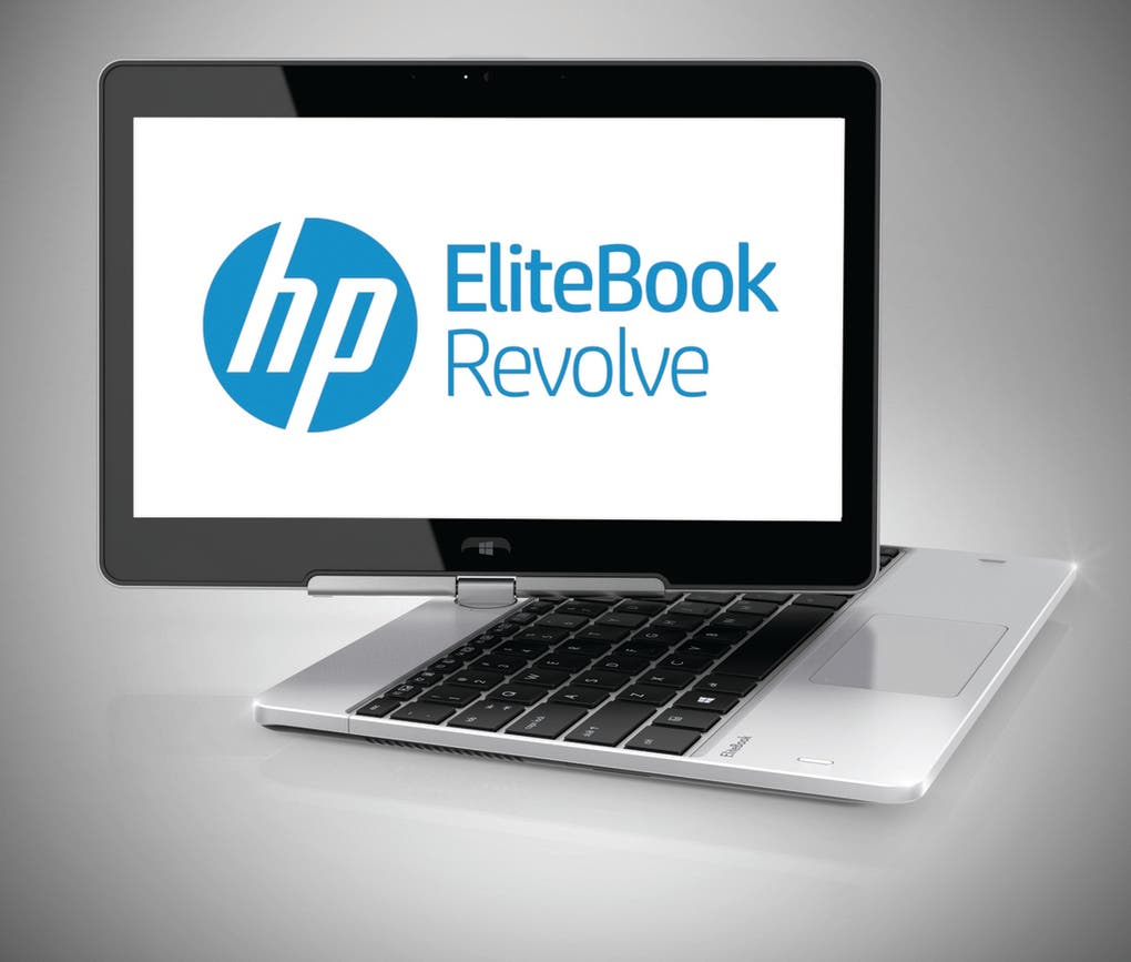 HP EliteBook Revolve 11,6 Zoll Convertible-Notebook mit High-End-Ausrüstung