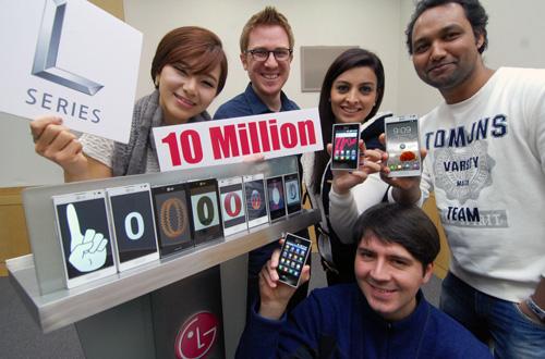 LG verkauft 10 Millionen Smartphones der L-Reihe